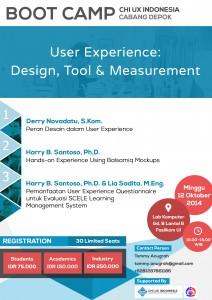 Bootcamp CHI UX Indonesia - Depok.